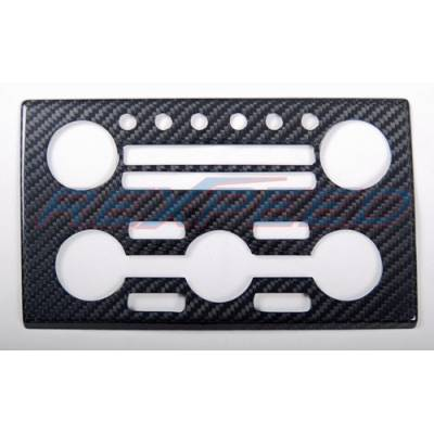 REXPEED Накладка на панель управления кониционером NISSAN GT-R R35