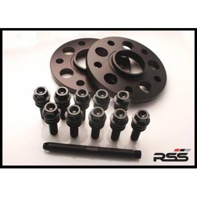 RSS 34011 К-т проставок колесных для PORSCHE 15mm Black Anodize