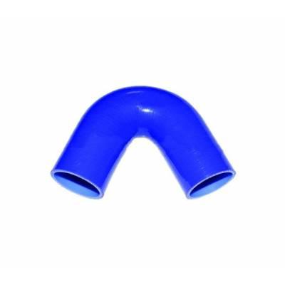 e135-57 BLUE Патрубок силиконовый, 135гр. 57 мм