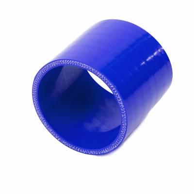 csh-43 BLUE Патрубок силиконовый, прямой 43 мм