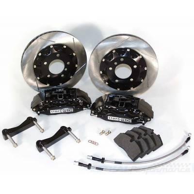 StopTech задняя 4-поршневая Тормозная Система   для BMW F30 335  (2012)  (345x28мм)