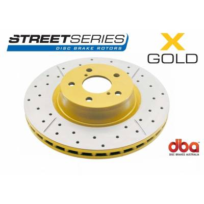 DBA X-Gold задние тормозные диски для Toyota Land Cruiser Prado 150/ LC150/ Lexus GX460 (312х18mm)