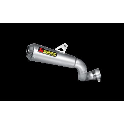 AKRAPOVIC Титановая выхлопная система Slip-On для Honda CBR100RR  (2014-2016)