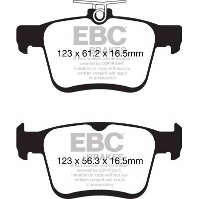 EBC колодки тормозные  DPX2153