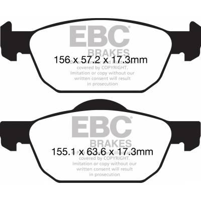 EBC колодки тормозные  DPX2154