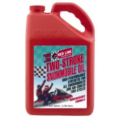 REDLINE OIL моторное масло для двухтактных снегоходов (3,8л)