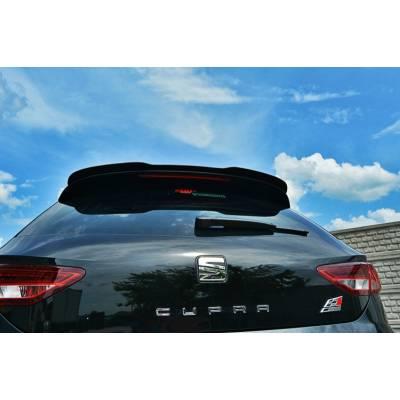 Maxton Design Накладка на задний спойлер для Seat Leon III Cupra