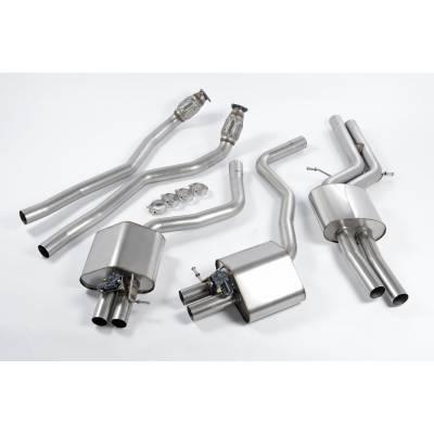 MILLTEK  Выхлопная система 76mm от турбин (с резонаторами) для Audi RS6/RS7 (2012+)