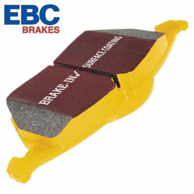 EBC Yellow Stuff задние тормозные колодки для BMW X5/X6 (F15/F16) (под 320мм диск)